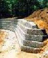 Укрепление склонов с помощью габионных ящиков