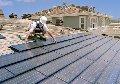 Монтаж систем солнечного нагрева воды (Гелиосистема)
