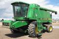 Уборка урожая зерновых, сои , кукурузы 7 комбайнами JOHN DEERE 9600, пр-во США
