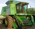 Уборка урожая зерновых, сои ( жатки флекс), кукурузы комбайнами JOHN DEERE 9600, пр-во США