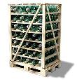 Виды упаковки изоляторов Универсальный пакет (УП)