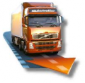 Calculation of an optimum route of freight road haulage for complex criterion