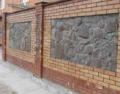 Установка кирпичных и каменных заборов