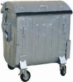 Металлический контейнер.для сбора коммунальных и промышленных отходов. Наличие крышки защищает от выпадения отходов.Вторсырье.Отходы.Вторичная тара и упаковка Бумага.Макулатура.