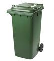 Пластиковый контейнер для сбора коммунальных и промышленных отходов.Вторсырье.Отходы.Вторичная тара и упаковка Бумага.Макулатура.