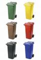 Пластиковий контейнер, 120л.Утилизация отходов.Вторсырье.Отходы.Вторичная тара и упаковка Бумага.Макулатура.Твердые бытовые отходы