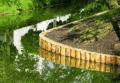 Создание озёр, водоёмов и водопадов
