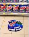 Размещение рекламы в сети супермаркетов Луганска.