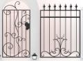 Монтаж и демонтаж металлоконструкций в Житомире, установка ворот ручной работы, демонтаж старого оборудования, работа по монтажу ворот, лавочек для парков, Украина