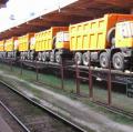 ООО «Дюк Актив» предоставляет клиентам услугу по отправке грузов в контейнерах во внутриукраинском сообщении на все контейнерные станции УЖД по схеме «от двери до двери».