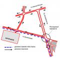 Разработка схемы организации дорожного движения