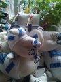Корпоративная мягкая игрушка, декоративная подушка, изготовление на заказ.