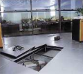 Delivery and installation of systems of hollow floors