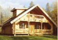 Сборка комплекта деревянного дома