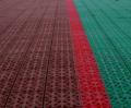 Укладка спортивных покрытий для теннисных кортов