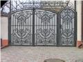 Монтаж и проектирование кованных ворот Одесса
