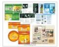 Печать трафаретная: визитки, конверты, бланки, папки, услуги печати широкоформатной в Киеве