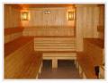 Финская сауна и инфракрасная сауна в отеле Вест