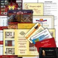 Offset printing: booklets, brochures, flyer, posters
