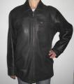 Мужская куртка из высококачественной кожи классического покроя.