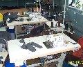Обработка края изделия одежды на швейном оборудовании Juki