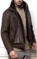 мужские кожаные куртки с мехом фото.