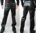 Пошив мужской верхней одежды из натуральной кожи под заказ - куртки, плащи, дубленки, кожаные брюки,  по вашему дизайну в салоне Горностай, Киев