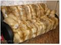 Пошив покрывал для дома из натурального меха - лисы, шиншиллы, енота, кролика, норки, ремонт покрывал из натурального меха в салоне-ателье Горностай, Киев
