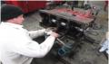 Ремонт двигателя, Диагностика двигателя.   -выявление неисправностей и дефективных деталей (дефектовка);  - установление уровня износа деталей,разборка двигателя.