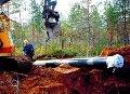 Прокладывание трубопроводов (трубы UPONOR)