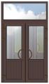 Двери входные металлопластиковые, алюминиевые