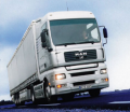The combined freight transport transportation