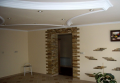 Putting decorative plaster, service on internal finishings of rooms