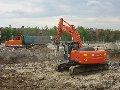 Демонтаж и выемка фундаментов и железобетонных оснований сооружений