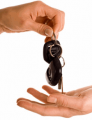 Hire, rent of a car by the day