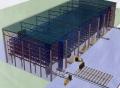Монтаж складских помещений из металлоконструкций