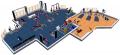 Оборудование тренажерных залов. Оснащение клубов. 3D планировки.