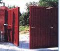 Монтаж ворот раздвижных, изготовление ворот в Киеве (Украина), Цена от производителя