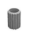Ведро оцинкованное для бетонной урны