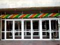 Услуги по оформлению витрин воздушными шарами