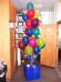 Оформление подарков воздушными шарами