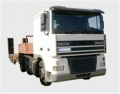 Services of the DAF 95XF Tractor with the semi-trailer with a loading capacity up to 30