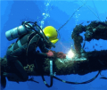 Подводная сварка и резка.