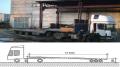 Услуги трала - перевозка станков, трансформаторов, компрессоров, строительной техники по Украине, Киев