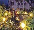 Услуги по освещению и световому дизайну ландшафтов и зданий