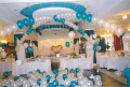 Decoration of rooms balloons