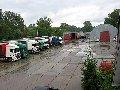 Стоянка грузового автомобиля