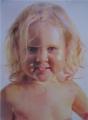 Портреты в технике : Сухая кисть