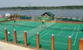 Услуги теннисного корпуса со всепогодным синтетическим покрытием Берго Теннис