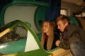 Обучение детей полётам на тренажере МиГ-21